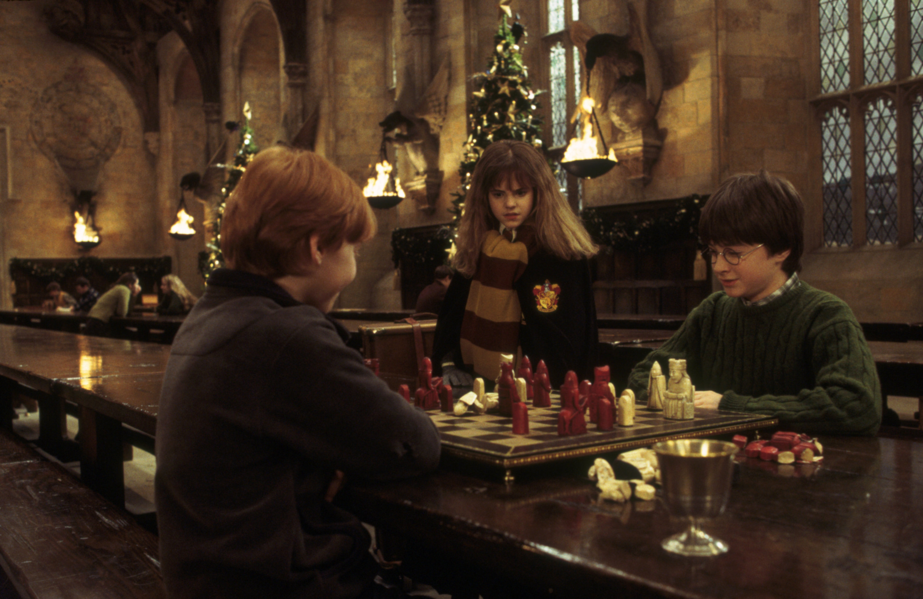 Harr Potter chess game