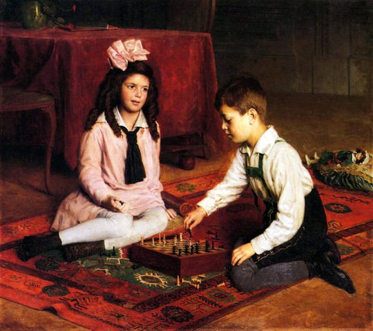 the chess match 1902 carl probst